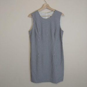 Laundry by Shelli Segal Checkered Dress